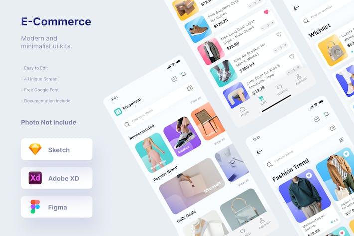 Thumbnail for Mytemp - Ecommerce Ui Kits