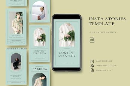 Inhalt - Geschichten Instagram Vol.1