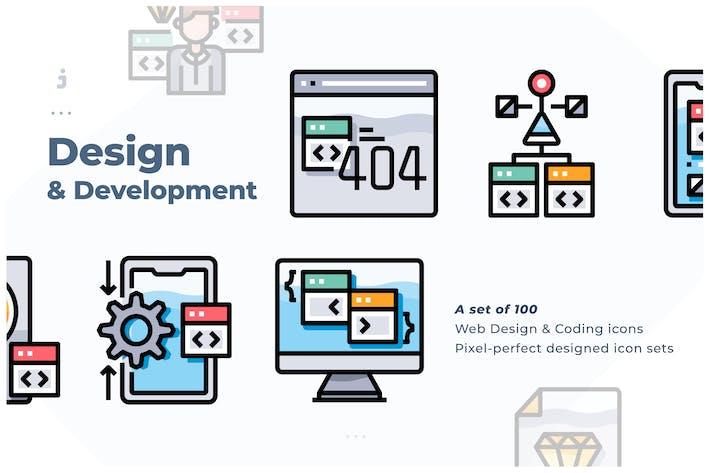 100 Web Design & Development icon