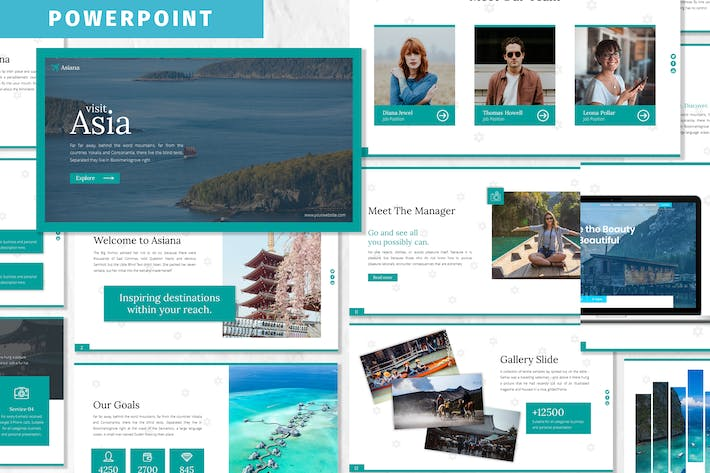 Thumbnail for Asiana - Business Powerpoint Template
