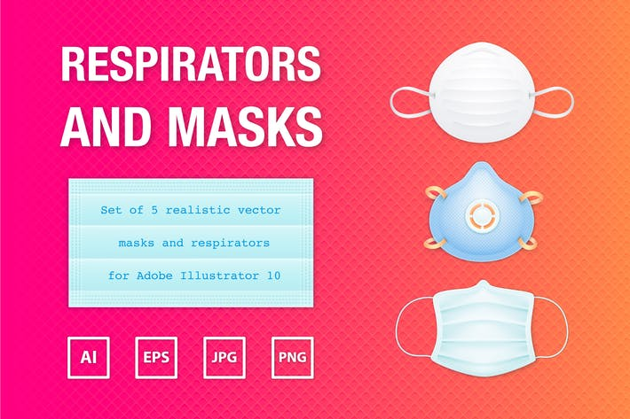 Thumbnail for Realistic Masks and Respirators