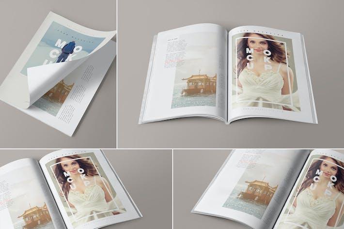 Thumbnail for 4 Maquettes de magazines