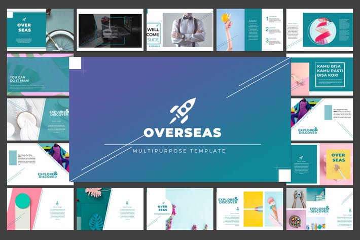 Thumbnail for Overseas Google Slide Template