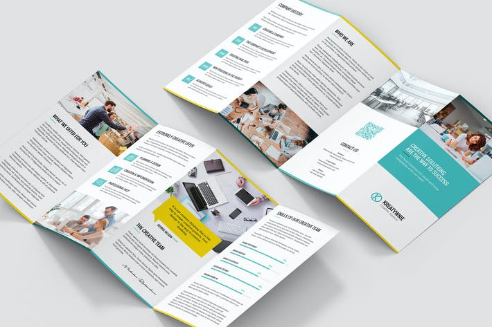 Thumbnail for Brochure – Creative Agency 4-Fold