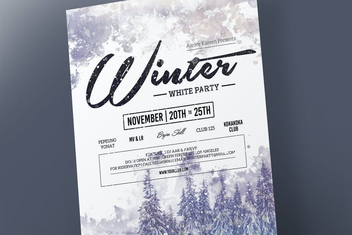 Thumbnail for Winter Event Flyer
