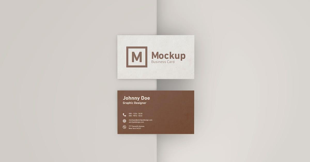 Download Elegant Business Card Mockup by amritpaldesign