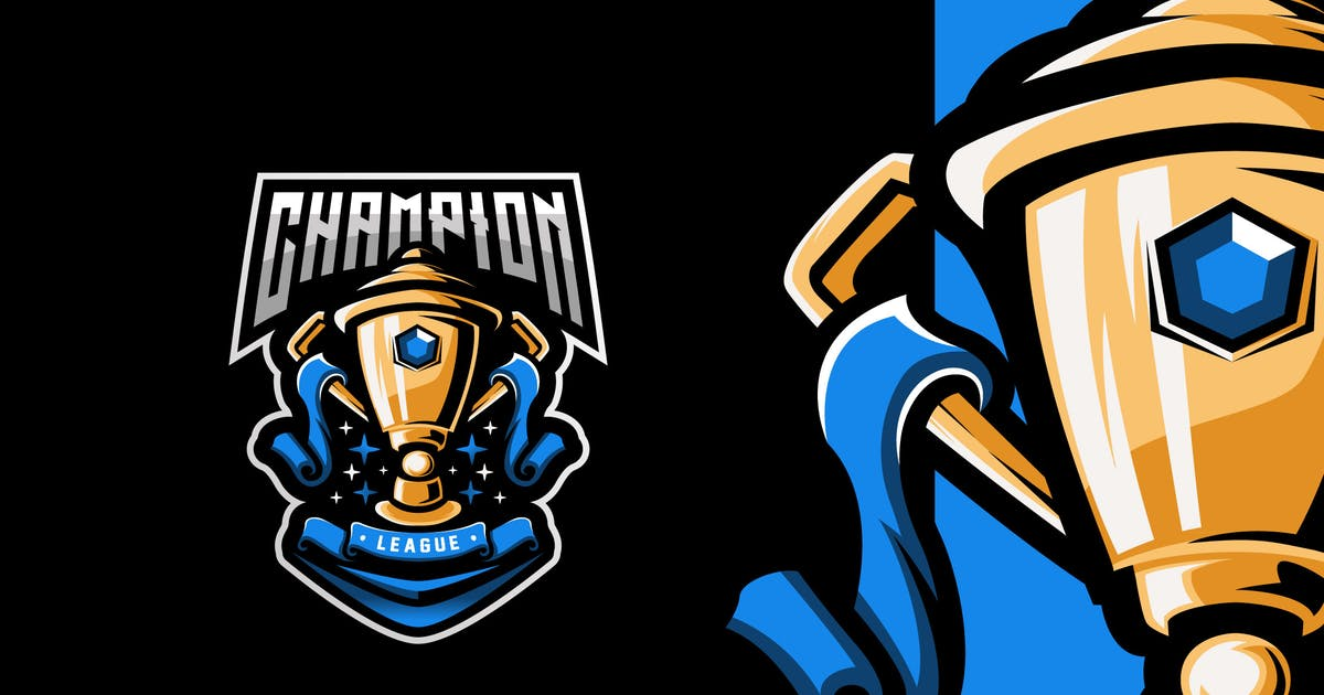 Download Trophy Esport Logo Template by Prosperos006