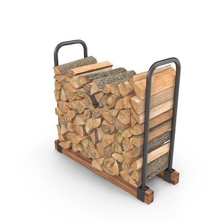 Brennholz Stapel