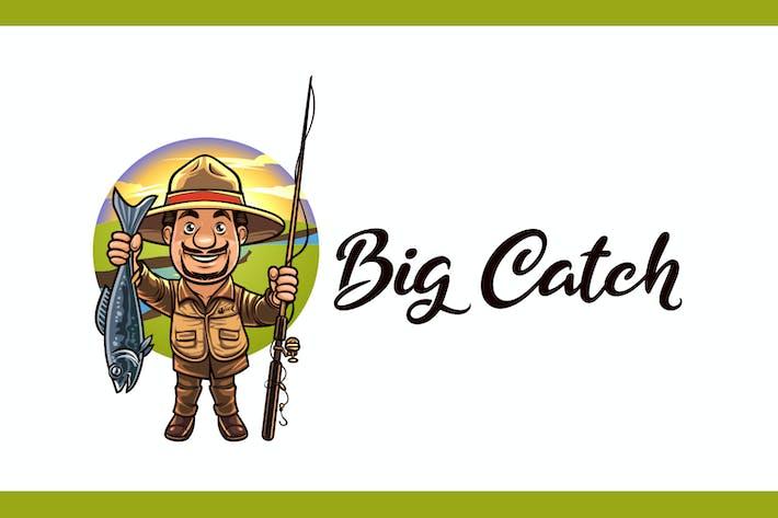 Thumbnail for Big Catch - Fishing Logo