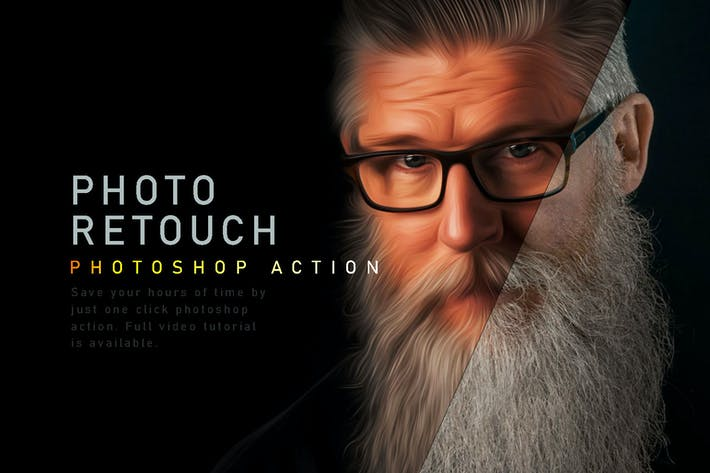 Photo Retouch Photoshop Action