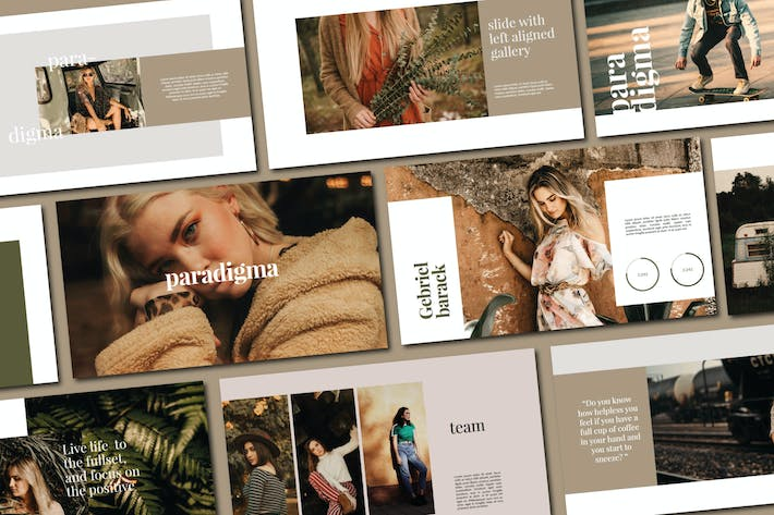 Cover Image For Paradigma | Powerpoint Templates