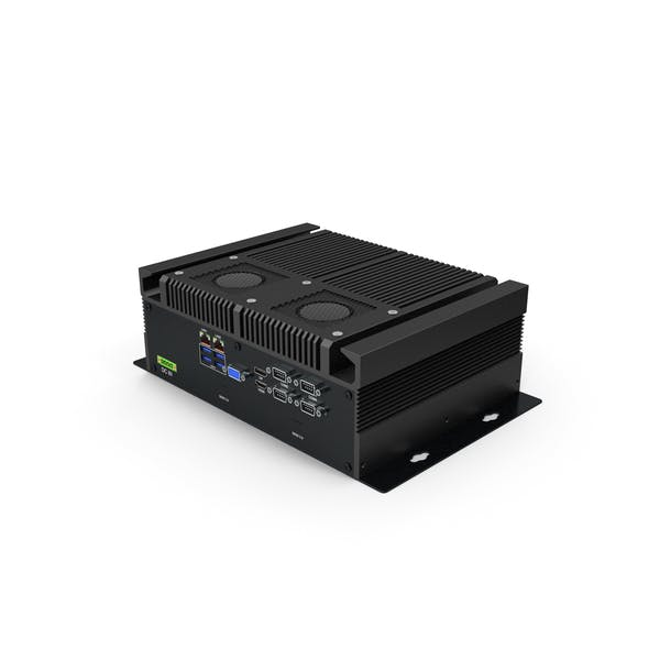 Industrial Mini PC Black
