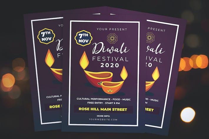Thumbnail for Diwali Fest Flyer