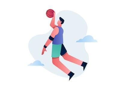 Sport - Basketball Illustration