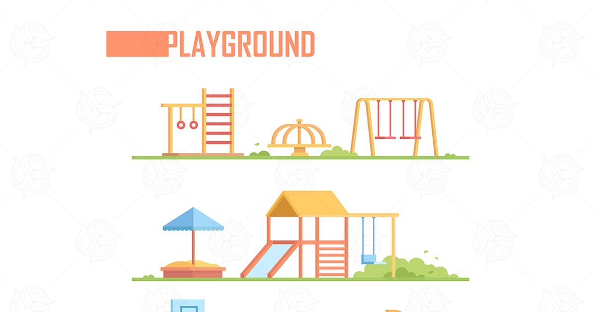 Download Set of vector playground elements by BoykoPictures