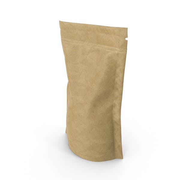 Brown Paper Vacuum Sealed  Bag