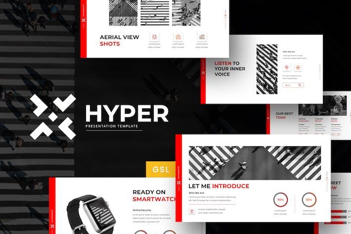 Thumbnail for Hyper - Google Slides Template