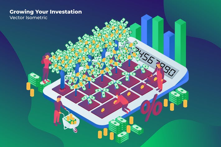 Thumbnail for Growing Investation - Vector Illustration