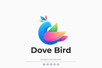 Dove Gradient Colorful Logo