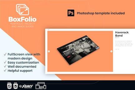 BoxFolio   Project, Portfolio, Image Slider plugin