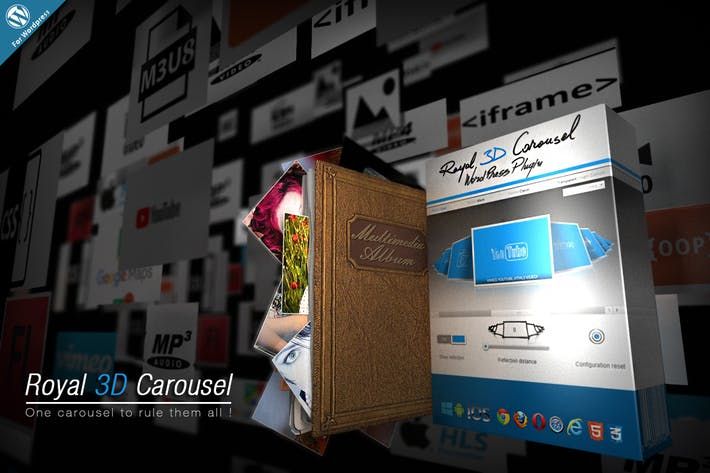 Thumbnail for Royal 3D Carousel Wordpress Plugin
