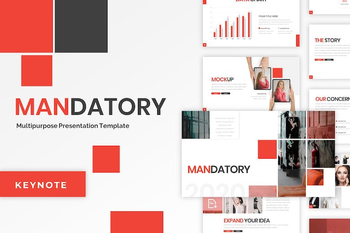 Thumbnail for Mandatory - Business Keynote Template
