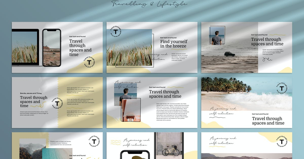 Download THRAY - Modern Powerpoint Template by Slidehack