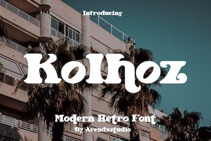 Kolhoz - Modern Retro