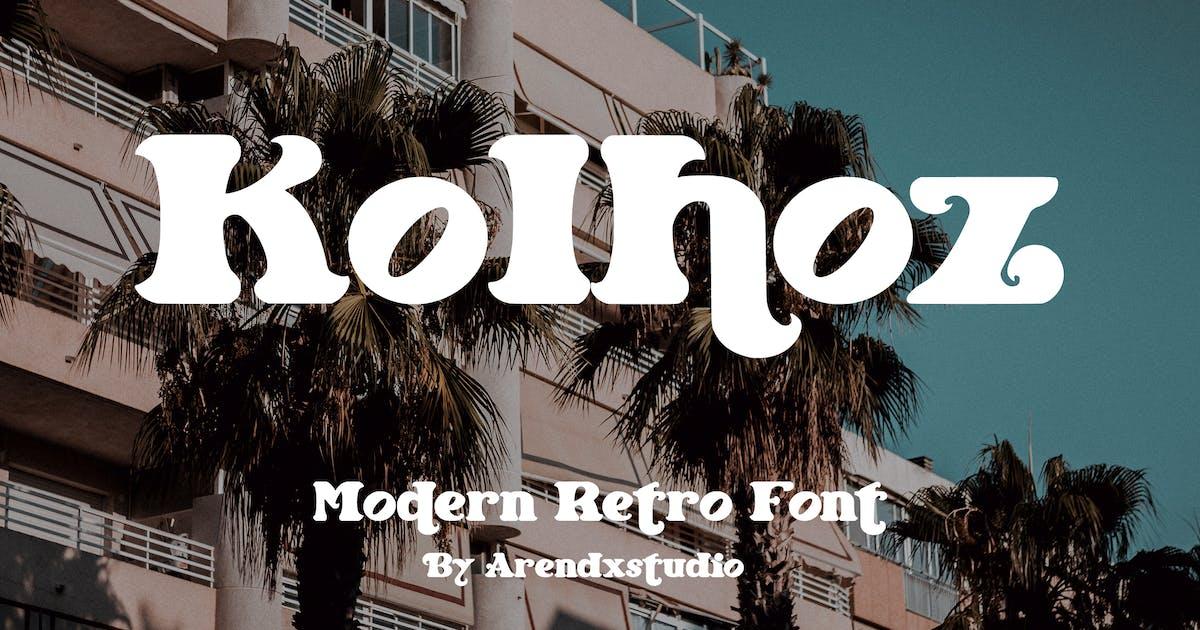 Download Kolhoz - Modern Retro by arendxstudio