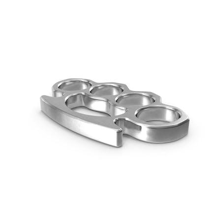 Silver Brass Knuckles