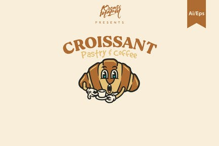 Croissant Logovorlage