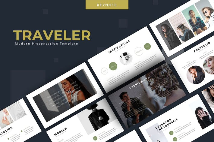 Thumbnail for Traveler - Keynote Template
