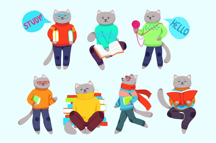 Thumbnail for Back To School Cats
