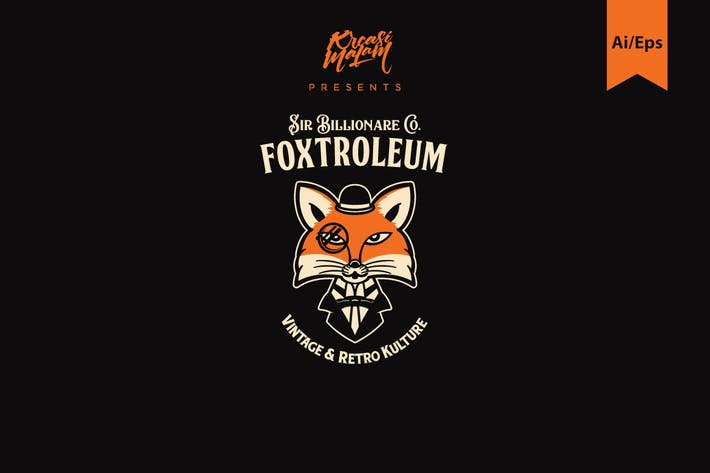 Thumbnail for Foxtroleum Logo Template