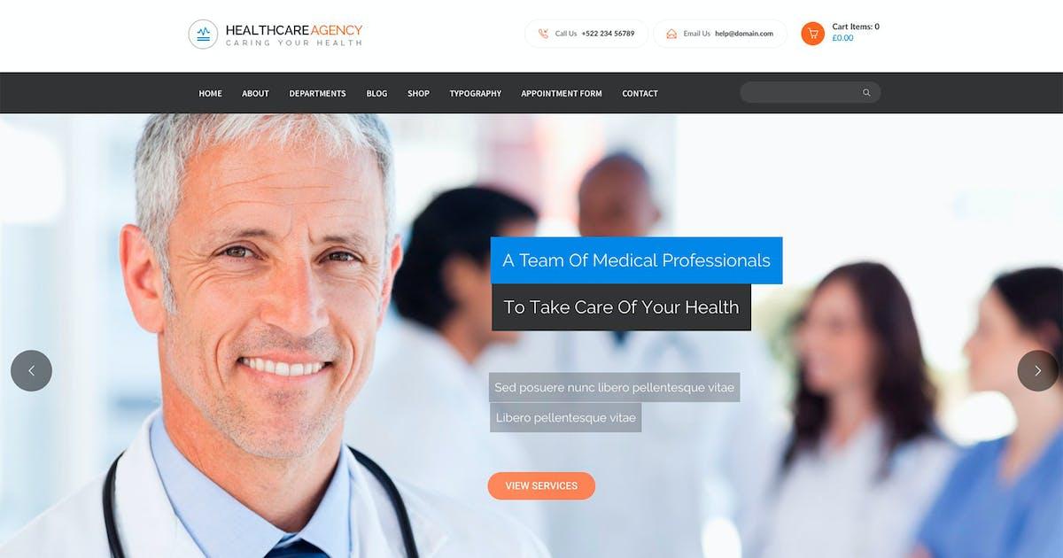 Download Healtcare Agency by Templines