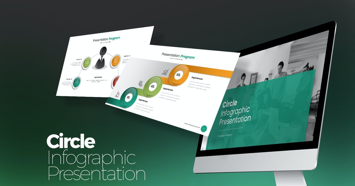 Download Circle Infographic Keynote by StockShape