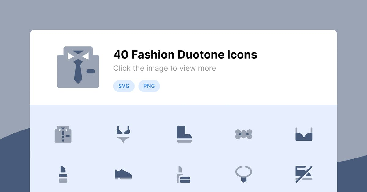 Download Fashion Duotone Icons by roywj