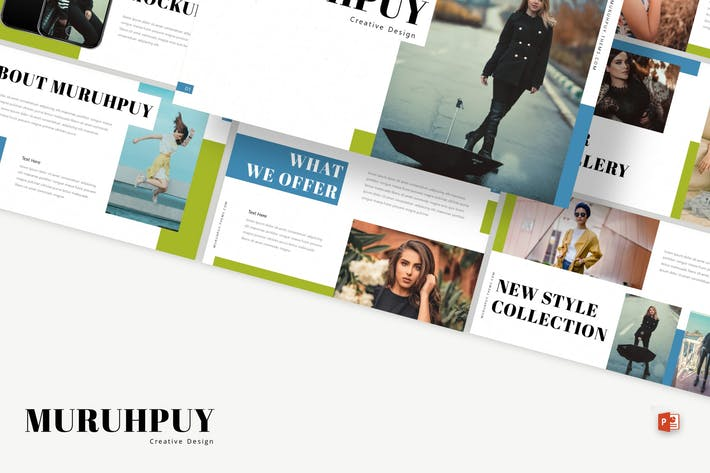 Thumbnail for Muruhpuy - Powerpoint Template