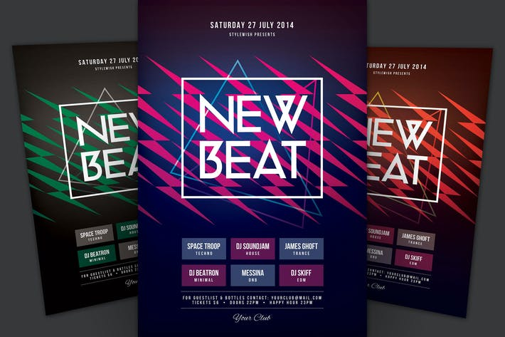 Thumbnail for New Beat Flyer