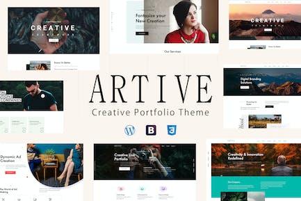 Artive - Creative Portfolio Theme