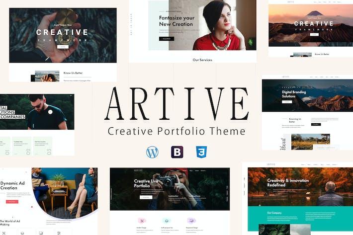 Thumbnail for Artive - Creative Portfolio Theme