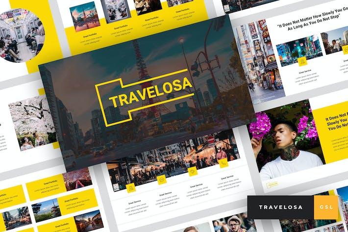 Thumbnail for Travelosa - Japanese Google Slides Template