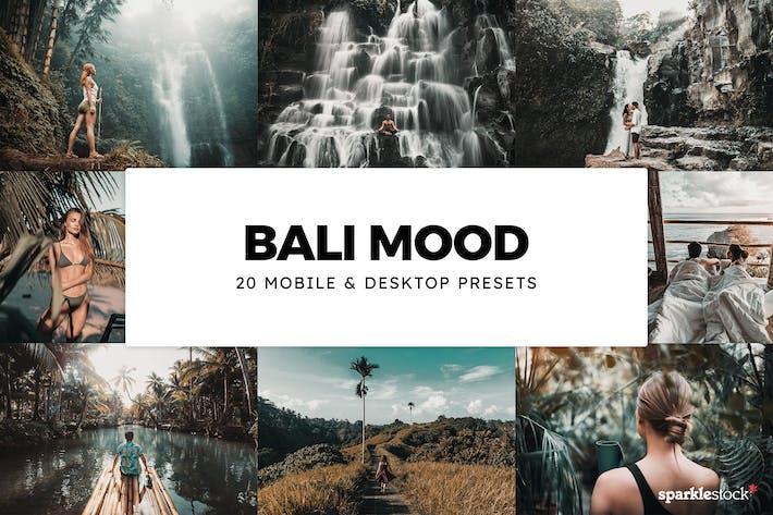 Thumbnail for 20 Bali Mood Lightroom Presets & LUTs