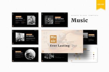 Music Ever Lasting | Google Slides Template