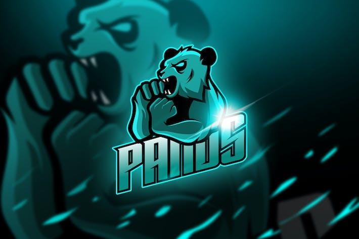 Thumbnail for Pand - Mascot & Logo Esport