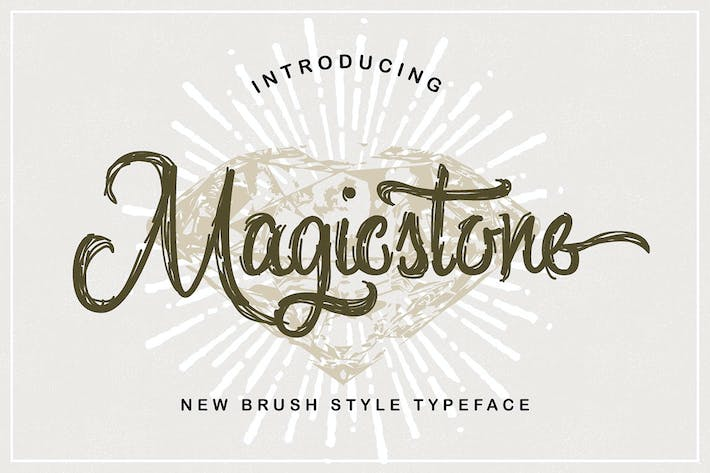 Cover Image For Magicstone Typeface