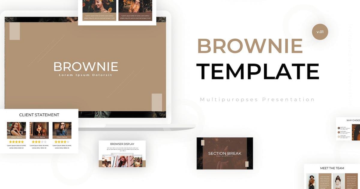 Download Brownie - Google Slides Template by SlideFactory