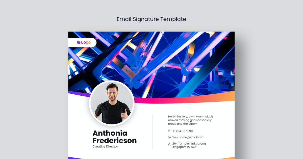 Download Email Signature Template V.26 by Neermana