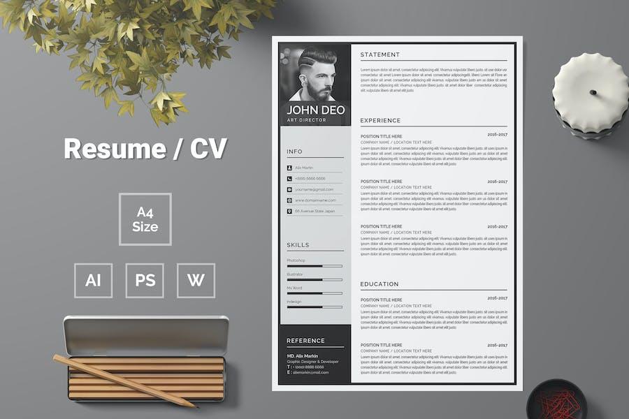 Resume Template 75