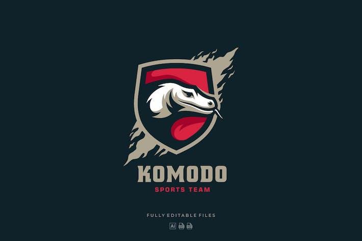 Thumbnail for Komodo Sports and E-sports Style Logo